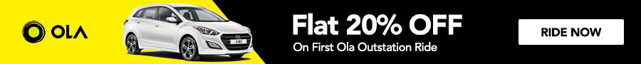 Ola Cabs Coupons