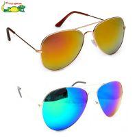 Elligator reflected Aviator Sunglasses Combo For Unisex