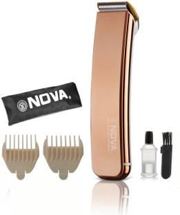 Nova NHT 1049 Titanium Coated Rechargeable Trimmer For Men