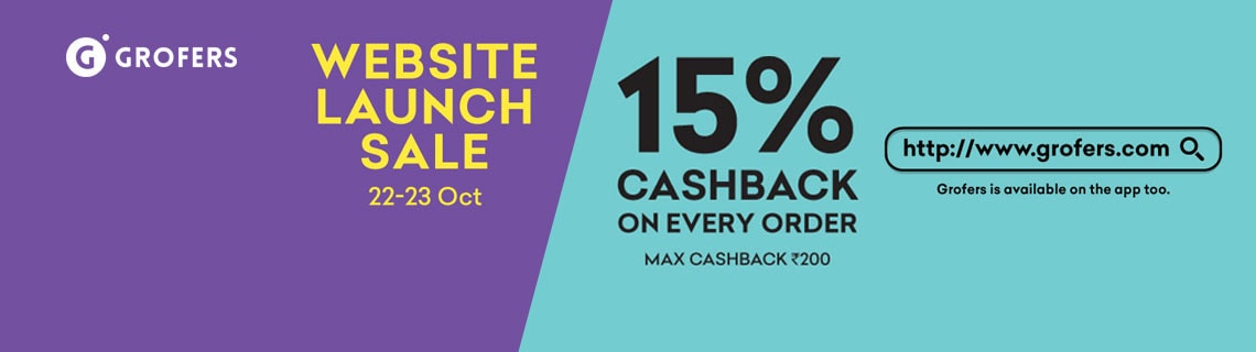 Flat 15% Cashback On All Orders Coupon Code