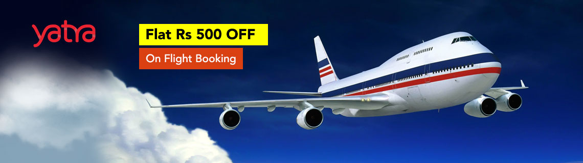 Flat Rs 500 OFF On Flight Booking Coupon Code
