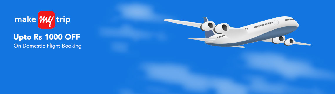 Upto Rs 1000 OFF On Domestic flight Bookings Coupon Code