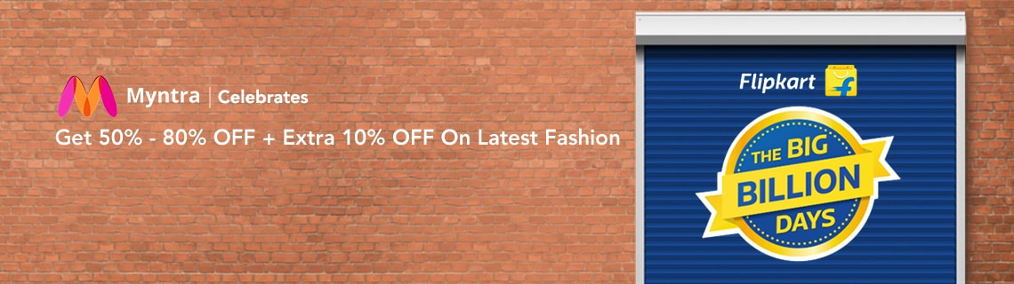 50% - 80% OFF + Extra 10% OFF On Latest Fashion Coupon Code